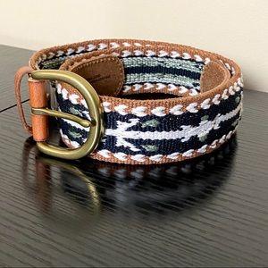 AMERICAN EAGLE Woven Leather Belt NWOT